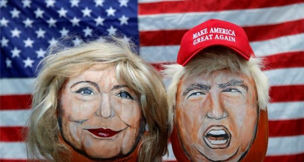 ¿Hilary Clinton o Donald Trump?/Imagen:Reuters