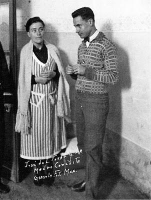 José de León Toral y la madre Conchita