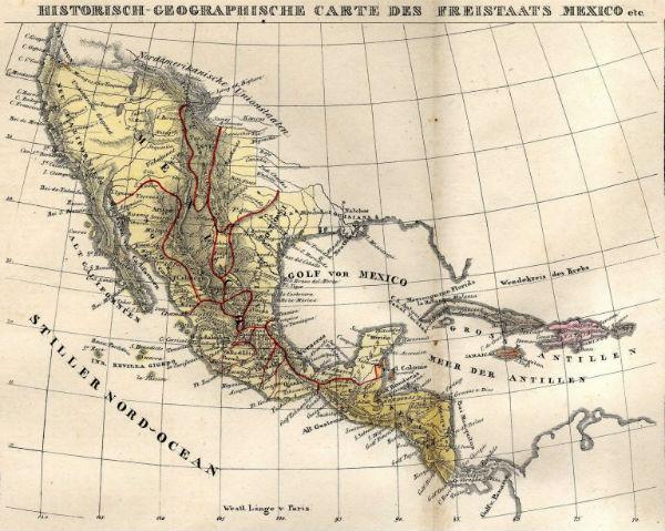 mapa del imperio.