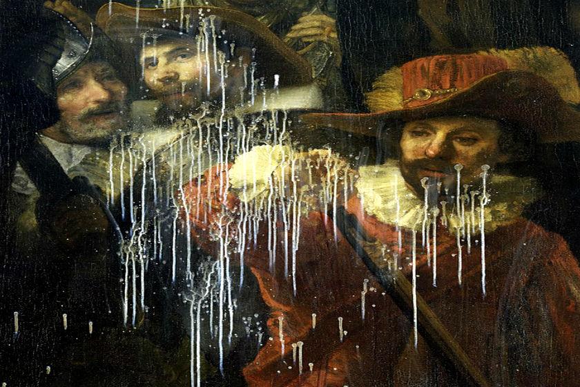 Rembrandt-vandalismo