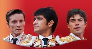 Diego Urdiales, Joselito Adame, Fermín Rivera.