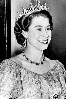 Reina Isabel, siglo pasado. Imagen: internet