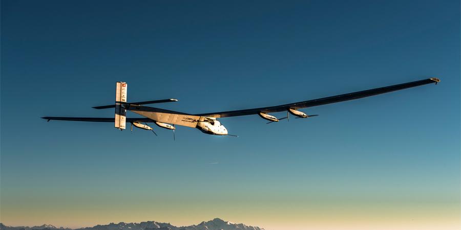 ¿La vuelta al mundo con ayuda del sol? Esto hace el Solar Impulse 2, conóceloImagen: latercera.com