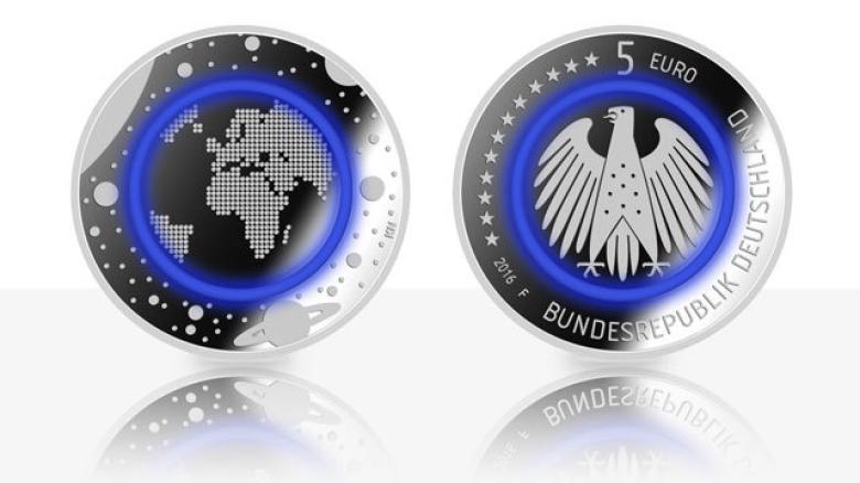 moneda cinco euros alemania