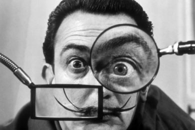 Salvador Dalí bigotes