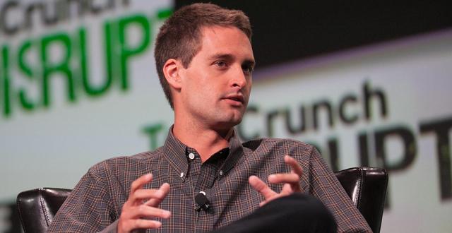 Evan Spiegel, creador de Snapchat. Imagen: internet