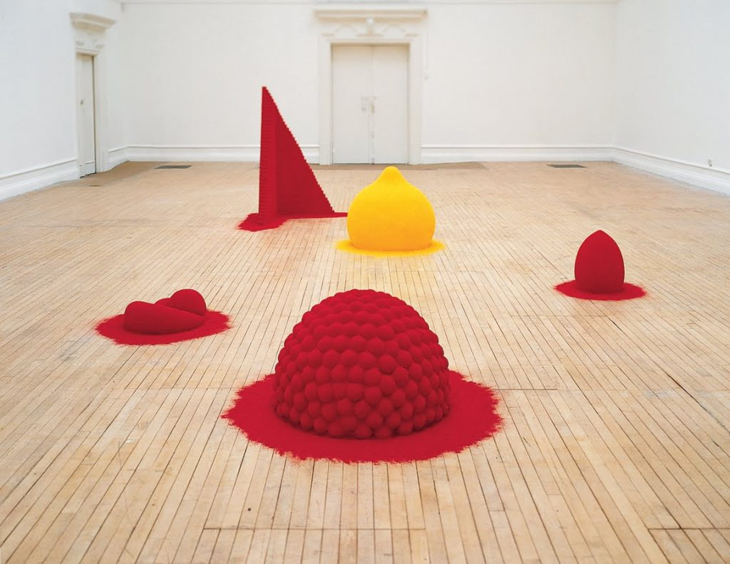 Anish Kapoor. To Reflect an Intimate Part of the Red