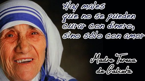 Madre Teresa De Calcuta Frases Biografia Canonizacion 10 Frases