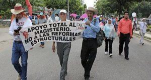 Marcha de la CNTE
