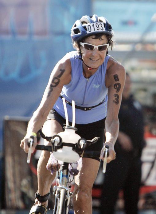 monja triatleta
