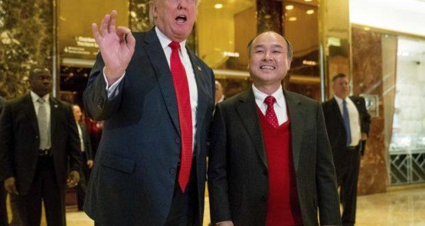 Japonés SoftBank invertirá USD 50.000 millones en EEUU — Donald Trump