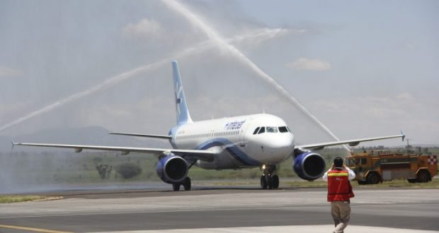 Interjet recibió autorización de SCT para cubrir rutas desatendidas por Superjet 100 con A321 tras Directiva de autoridad rusa. FOTO: ALEJANDRO ORTEGA NERI /CUARTOSCURO.COM