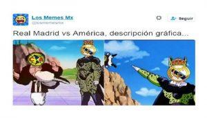 América vs Real Madrid mejores memes