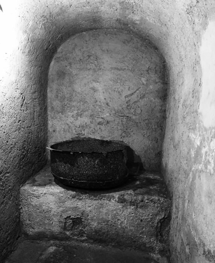 Pila de la Sinagoga de Fes. Marruecos