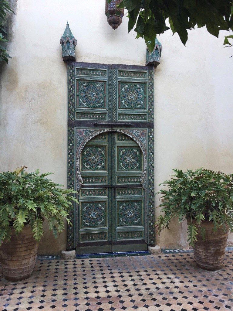 Puerta, Fes. Marruecos
