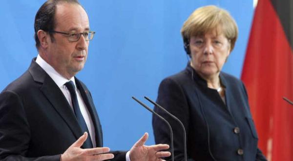 Los ministros europeos Angela Merkel y Francois Hollande piden mayor unidad en la UE/RTVE.
