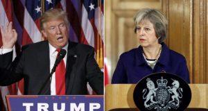 La primera ministra británica, Theresa May viajará este jueves 26 de enero a la Casa Blanca para reunirse con el presidente entrante Donald Trump. La canciller británica será la primera líder mundial en reunirse con el mandatario republicano en Washington,, aún se desconoce los temas a tratar sin embargo, corren las primeras declaraciones de May ante postura anti globalizadora de Trump. Cabe recordar que durante la campaña electoral del entonces candidato republicano En plena campaña por reivindicar la vocación global de un Reino Unido pos Brexit, May se apuntará así una victoria política al convertirse en la primera líder internacional en reunirse con el presidente de Estados Unidos, después de su toma de posesión el viernes, escribe Mirror. Se tiene previsto que en la reunión se debata el futuro comercial entre el Reino Unido y Estados Unidos tras la salida de la Unión Europea. Trump ha reconocida en diversas ocasiones que un acuerdo justo con el Reino Unido será prioridad para su administración, contrastando a lo que venía manejando Barack Obama.
