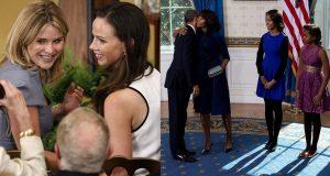 """Las hijas mellizas del ex presidente de los Estados Unidos George W. Bush, antecesor en la Casa Blanca de Barack Obama, han escrito una carta a las hijas del demócrata Malia y Sasha, las hijas del aún presidente de Estados Unidos, En dicha carta expresan su apoyo y dan consejos a las Obama para alientarlas en esta nueva etapa para afrontar su nuevo papel como ex primeras hijas, un rol para el que """"no hay manuales"""". Ante este proceso, Jenna y Barbara Bush, ambas de 35 años, dan un consejo a sus sucesoras en la misiva publicada en la revista Time: """"Tomen todo lo que han visto, a las personas que han conocido y las lecciones que aprendieron y dejen que todo eso las ayude y las guie para lograr cambios positivos: estamos seguras de que así harán""""."""