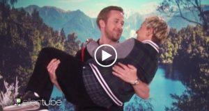 Ellen DeGeneres parodia escena de La La Land con Ryan Gosling