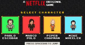 Netflix lanzó un videojuego protagonizado por personajes de sus series