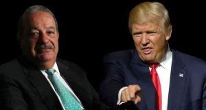 Los caminos empresariales de los magnates Donald Trump, Carlos Slim y la Comisión Federal de Electricidad (CFE) se cruzan en la frontera de México con Estados Unidos (EE.UU.), en la zona donde el presidente electo de EE.UU. asegura que construirá un muro que pagará su vecino del sur. Dichos caminos entrelazados en dos gasoductos con un valor combinado de mil 400 millones de dólares que proveerán de gas natural de Texas a la CFE, en uno de los proyectos del Gobierno Federal para reducir los costos de la energía, principalmente a las empresas. Hace dos años el consorcio conformado por el grupo empresarial Carso, y Energy Transfer Partners con sede en Dallas se adjudicó los contratos para desarrollar los gasoductos Comanche Trail y Trans-Pecos, que conectan desde Waha, Texas, con la frontera mexicana y ahí se conectan con los gasoductos del lado mexicano llamados San Isidro-Samalayuca y Ojinaga-El Encino.