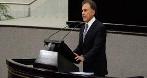 Miguel Ángel Yunes dice que presentará pruebas contra Duarte ante la PGR
