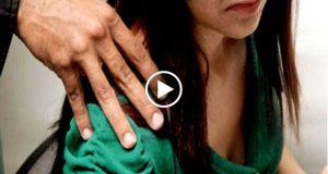 Fotografías muestran las huellas del acoso sexual