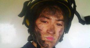 Fotografía de una bombera argentina se vuelve viral en la red
