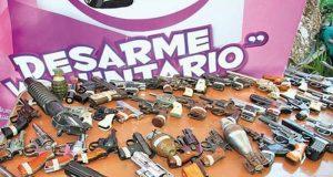 desarme voluntario CDMX