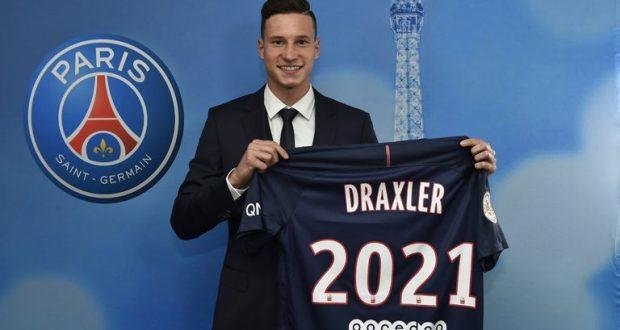 El equipo francés PSG confirmó el fichaje de Julian Draxler /psg.fr