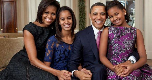 Michelle Obama comparte incríble foto familiar como homenaje al mandatario estadunidense/ Imagen:AFP