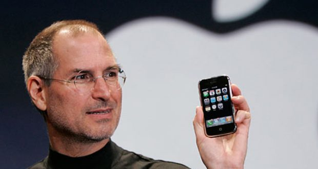 Celebran 10 años del lanzamiento del iPhone/Steve Jobs/S7