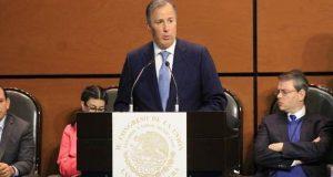 Precios de la gasolina en México son competitivos, insiste Meade ante diputados