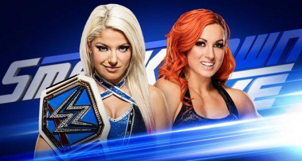 Esta noche en SmackDown Live, veremos a Alexa Bliss y Becky Lynch luchar dentro de una jaula de acero por el título de mujeres. También se espera un anuncio importante del comisionado Shane McMahon y Jerry Lawler visitará la WWE.