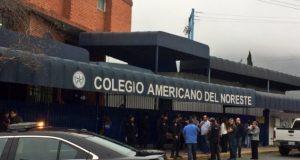 Se registra tiroteo en Colegio Americano del Noreste en Monterrey.Se confirma la muerte de la maestra Cecilia Cristina Solís