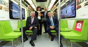 Mancera busca construir tren interurbano en la CDMX