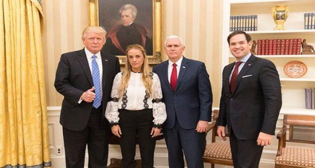 "Trump pide a Venezuela liberar ""inmediatamente"" a Leopoldo López"