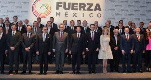 """Empresarios presentan al presidente Peña Nieto la iniciativa """"Fuerza México"""""""
