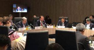 El secretario de Relaciones Exteriores afirmó que la relación con Estados Unidos está en proceso de diálogo y hay muchos temas que discutir en la agenda bilateral.