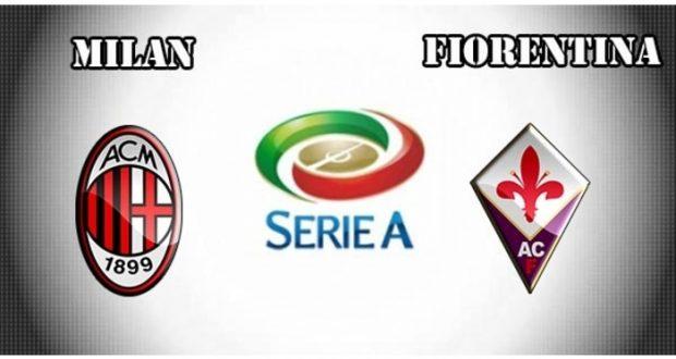 AC Milan sin Matías Fernández, logró un ajustado triunfo ante Fiorentina