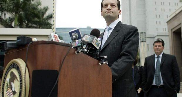El abogado de origen hispano Alexander Acosta es nominado por Donald Trump para presidir el Departamento del Trabajo, después de que Andrew Puzder se bajara del barco.