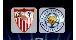 El campeón de la Liga Premier, Leicester City, visitará al Sevilla en el partido de ida de los octavos de final de la Liga de Campeones de la UEFA. Sevilla llega como amplio favorito para ganar este juego, pero los ingleses buscan marcar un crucial gol de visitante.