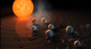 La NASA halla 7 planetas similares a la Tierra que podrían albergar vida