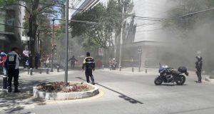 Se registra incendio en exclusivo restaurante de Polanco (Vídeos)