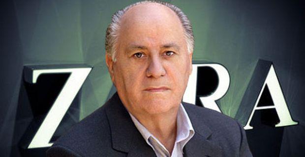 Amancio Ortega. Lista de los más ricos del mundo 217 Forbes