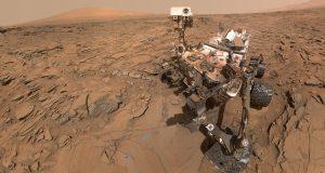 Reportan que el Curiosity sufrió fallas durante su exploración del planeta Marte