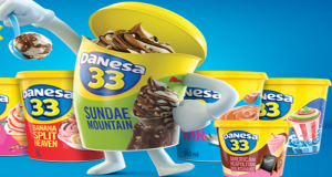 Aprovechando el prestigio que tuvo esta marca a finales del siglo pasado, helados Danesa 33 vuelve para conquistar a nuevas generaciones.
