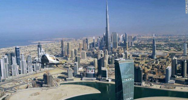 Dubai será la primera ciudad del mundo con un servicio de taxis voladores