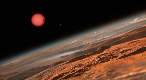 Astrónomos indican que solo uno de los nuevos 7 exoplanetas descubiertos podría albergar vida