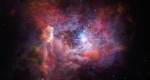 Logran detectar polvo estelar en una de las galaxias más lejanas actualmente conocidas